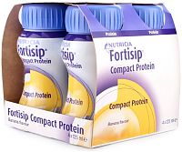 Fortisip Protein drink, pack of 4