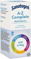 Sanatogen complete multivitamin box