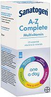 Sanatogen complete multivitamin box