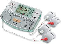 Panasonic 4-Pad 2-Channel Pain Relief TENS Machine