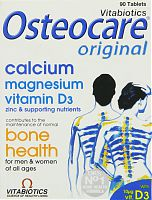 Vitabiotics Osteocare Original: Calcium, Magnesium, Vitamin D3; 90 tablets