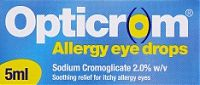 Opticrom 5ml Hayfever Eye Drops