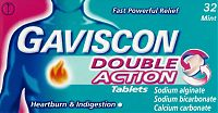 Gaviscon Double Action tablets box