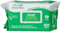 Clinell Multi-Purpose Universal Sanitising Wipes