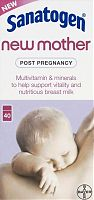 Sanatogen New Mother multivitamin tablets box