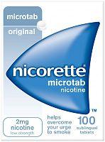 Nicorette Nicotine Micro Tab