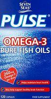Seven Seas Omega-3 pure fish oil capsules box