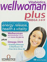 Vitabiotics Wellwoman tablets plus capsules