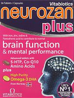 Vitabiotics Neurozan Plus Tablets