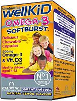 Vitabiotics Wellkid Soft Burst Capsules