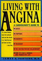 Living with Angina by Dr James Pantano, book cover