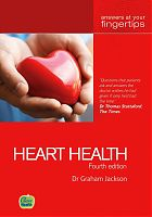 Heart Health by Dr Graham Jackson, fourth edition book cover