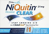 NiQuitin Clear 24 Hour Patches