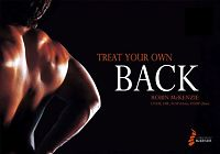 Treat your own back by Robin McKenzie book cover