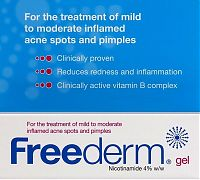 Freederm acne nicotinamine 4% gel packet