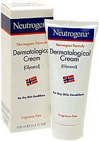 Neutrogena dermatological cream bottle