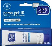 Clean & Clear Persa-gel 10 maximum strength box