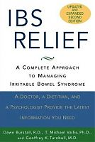 IBS Relief by Dawn Burstall, book cover
