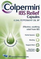 Colpermin IBS Relief capsules, box of 20
