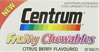 Centrum Fruity Chewables multivitamin