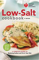 American Heart Association Low-salt cookbook, fourth edition cover