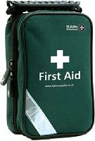 St John Ambulance first aid bag