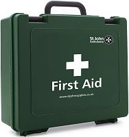 St John Ambulance first aid case
