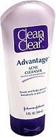 Clean & Clear Acne cleanser bottle