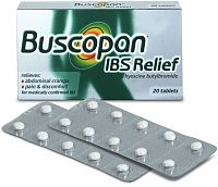 Buscopan IBS Relief tablets box
