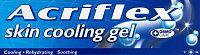 Acriflex skin cooling gel